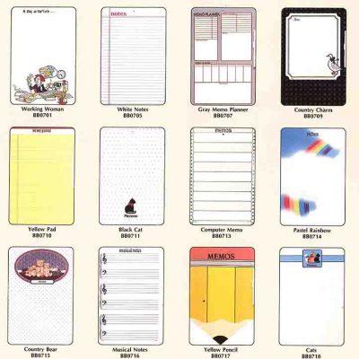 custom printed memo boards