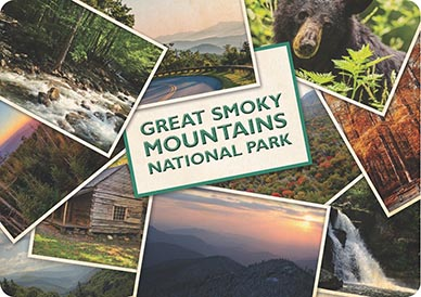 great smoky mountains national park placemat from bright of america