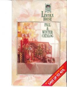 Lincoln House Catalog
